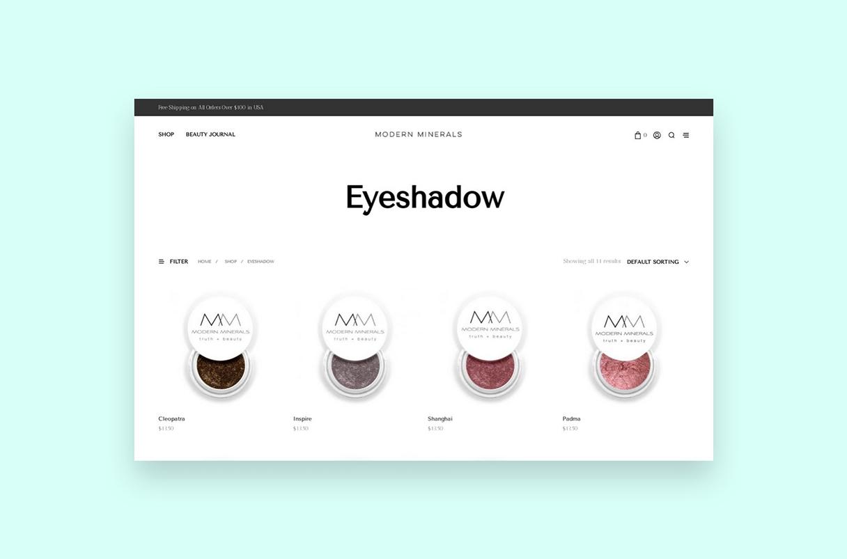 Modern Minerals Eyeshadow