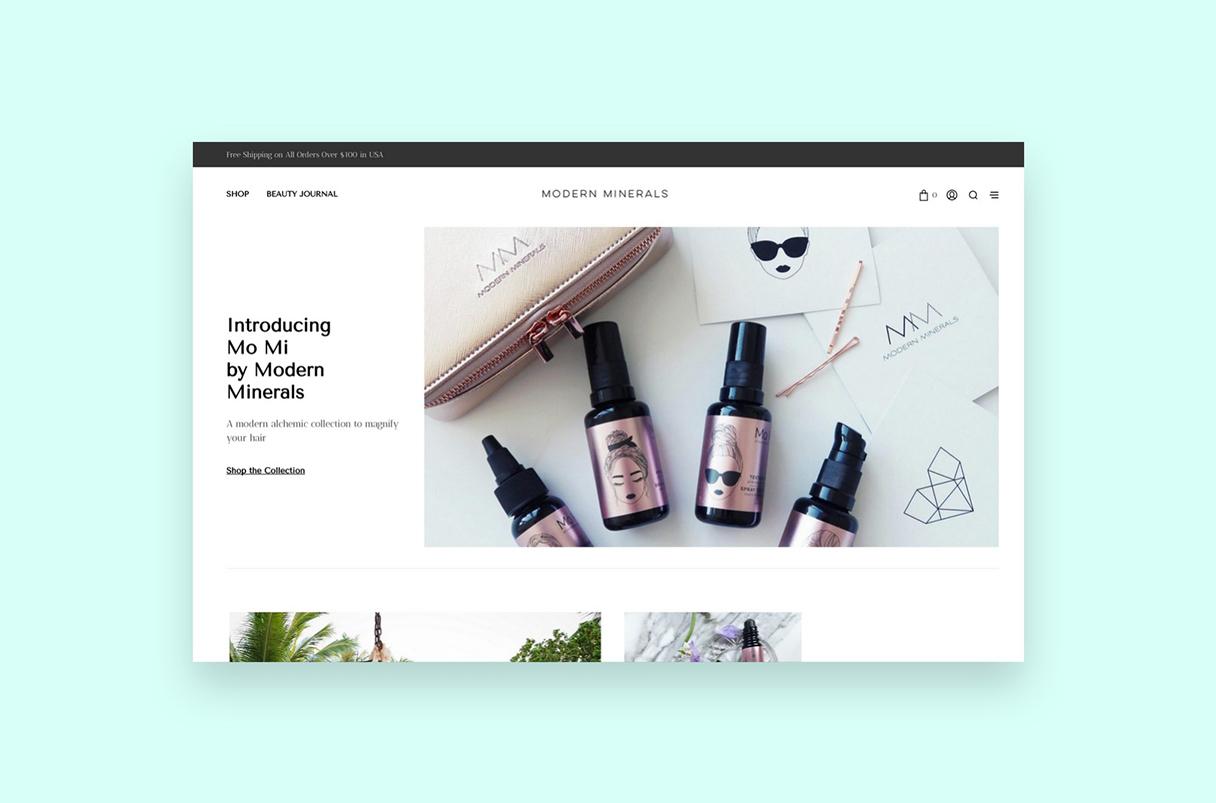 Modern Minerals Homepage