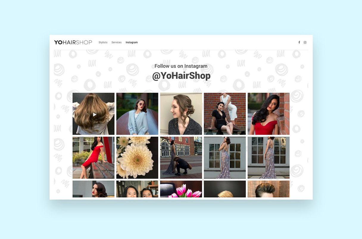 Yo Hair Shop Instagram
